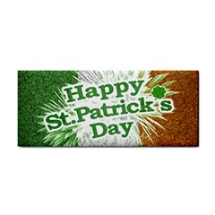 Happy St. Patricks Day Grunge Style Design Hand Towel