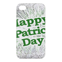 Happy St. Patricks Day Grunge Style Design Apple iPhone 4/4S Hardshell Case