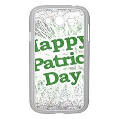 Happy St. Patricks Day Grunge Style Design Samsung Galaxy Grand DUOS I9082 Case (White)
