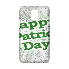 Happy St. Patricks Day Grunge Style Design Samsung Galaxy S5 Hardshell Case
