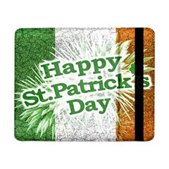 Happy St  Patricks Day Grunge Style Design Samsung Galaxy Tab Pro 8 4  Flip Case