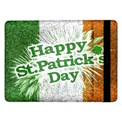 Happy St. Patricks Day Grunge Style Design Samsung Galaxy Tab Pro 12.2  Flip Case