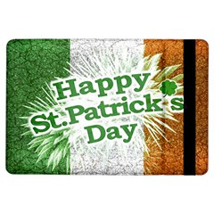 Happy St. Patricks Day Grunge Style Design Apple iPad Air Flip Case