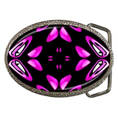 Abstract Pain Frustration Belt Buckle (Oval)