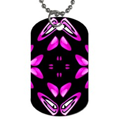 Abstract Pain Frustration Dog Tag (two Sided)