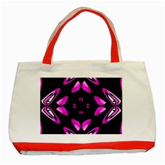 Abstract Pain Frustration Classic Tote Bag (Red)