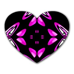 Abstract Pain Frustration Mouse Pad (heart)