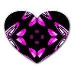 Abstract Pain Frustration Mouse Pad (Heart) Front
