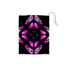 Abstract Pain Frustration Drawstring Pouch (Small)