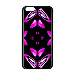 Abstract Pain Frustration Apple iPhone 6 Black Enamel Case