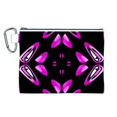 Abstract Pain Frustration Canvas Cosmetic Bag (Large)