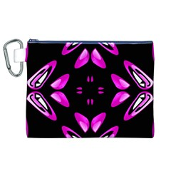 Abstract Pain Frustration Canvas Cosmetic Bag (XL)