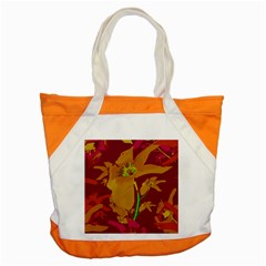 Tropical Hawaiian Style Lilies Collage Accent Tote Bag