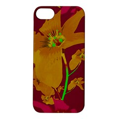 Tropical Hawaiian Style Lilies Collage Apple Iphone 5s Hardshell Case