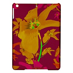 Tropical Hawaiian Style Lilies Collage Apple iPad Air Hardshell Case