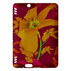 Tropical Hawaiian Style Lilies Collage Kindle Fire HDX Hardshell Case