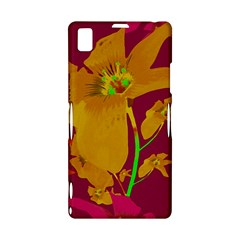 Tropical Hawaiian Style Lilies Collage Sony Xperia Z1 L39H Hardshell Case