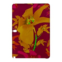 Tropical Hawaiian Style Lilies Collage Samsung Galaxy Tab Pro 10 1 Hardshell Case