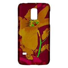 Tropical Hawaiian Style Lilies Collage Samsung Galaxy S5 Mini Hardshell Case