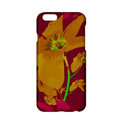 Tropical Hawaiian Style Lilies Collage Apple iPhone 6 Hardshell Case