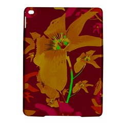 Tropical Hawaiian Style Lilies Collage Apple iPad Air 2 Hardshell Case