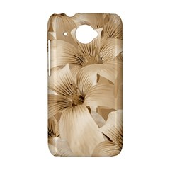 Elegant Floral Pattern in Light Beige Tones HTC Desire 601 Hardshell Case