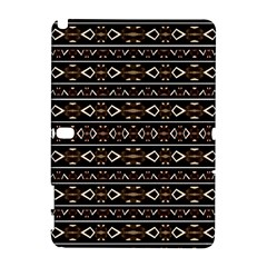 Tribal Dark Geometric Pattern03 Samsung Galaxy Note 10.1 (P600) Hardshell Case