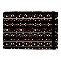 Tribal Dark Geometric Pattern03 Samsung Galaxy Tab Pro 10.1  Flip Case