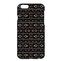 Tribal Dark Geometric Pattern03 Apple iPhone 6 Plus Hardshell Case