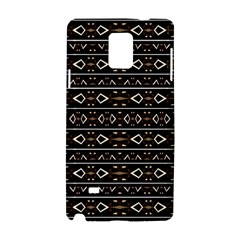 Tribal Dark Geometric Pattern03 Samsung Galaxy Note 4 Hardshell Case