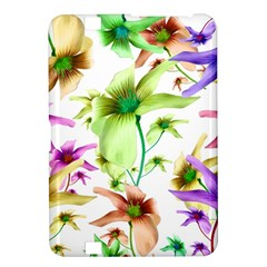 Multicolored Floral Print Pattern Kindle Fire HD 8.9  Hardshell Case