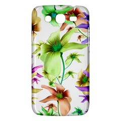 Multicolored Floral Print Pattern Samsung Galaxy Mega 5 8 I9152 Hardshell Case