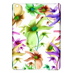 Multicolored Floral Print Pattern Apple iPad Air Hardshell Case