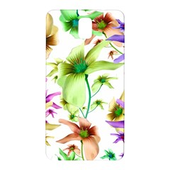 Multicolored Floral Print Pattern Samsung Galaxy Note 3 N9005 Hardshell Back Case