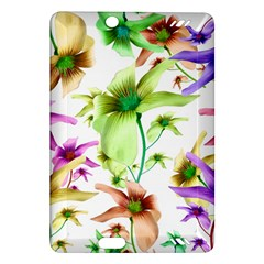 Multicolored Floral Print Pattern Kindle Fire HD (2013) Hardshell Case