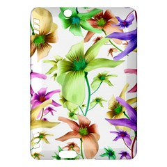 Multicolored Floral Print Pattern Kindle Fire HDX Hardshell Case