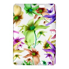 Multicolored Floral Print Pattern Kindle Fire HDX 8.9  Hardshell Case