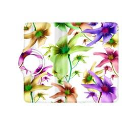 Multicolored Floral Print Pattern Kindle Fire HDX 8.9  Flip 360 Case