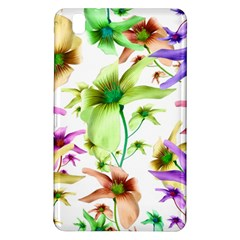 Multicolored Floral Print Pattern Samsung Galaxy Tab Pro 8.4 Hardshell Case