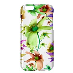 Multicolored Floral Print Pattern Apple iPhone 6 Plus Hardshell Case