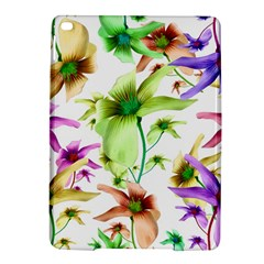 Multicolored Floral Print Pattern Apple iPad Air 2 Hardshell Case