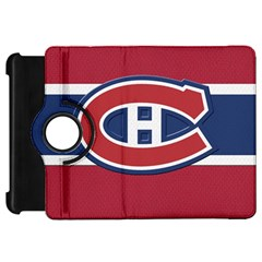 Montreal Canadiens Jersey Style  Kindle Fire HD Flip 360 Case