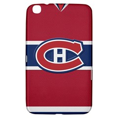 Montreal Canadiens Jersey Style  Samsung Galaxy Tab 3 (8 ) T3100 Hardshell Case