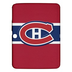 Montreal Canadiens Jersey Style  Samsung Galaxy Tab 3 (10 1 ) P5200 Hardshell Case