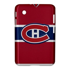 Montreal Canadiens Jersey Style  Samsung Galaxy Tab 2 (7 ) P3100 Hardshell Case