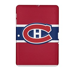 Montreal Canadiens Jersey Style  Samsung Galaxy Tab 2 (10 1 ) P5100 Hardshell Case