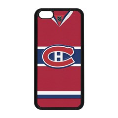 Montreal Canadiens Jersey Style  Apple iPhone 5C Seamless Case (Black)