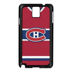 Montreal Canadiens Jersey Style  Samsung Galaxy Note 3 N9005 Case (Black)