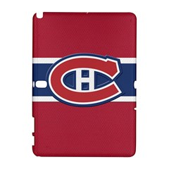 Montreal Canadiens Jersey Style  Samsung Galaxy Note 10.1 (P600) Hardshell Case