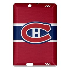 Montreal Canadiens Jersey Style  Kindle Fire HD (2013) Hardshell Case
